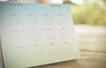 Calendar-ilc2020